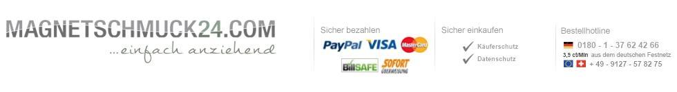 Magnetschmuck24.com - Magnetschmuck, Titanschmuck & Edelstahlschmuck online bestellen